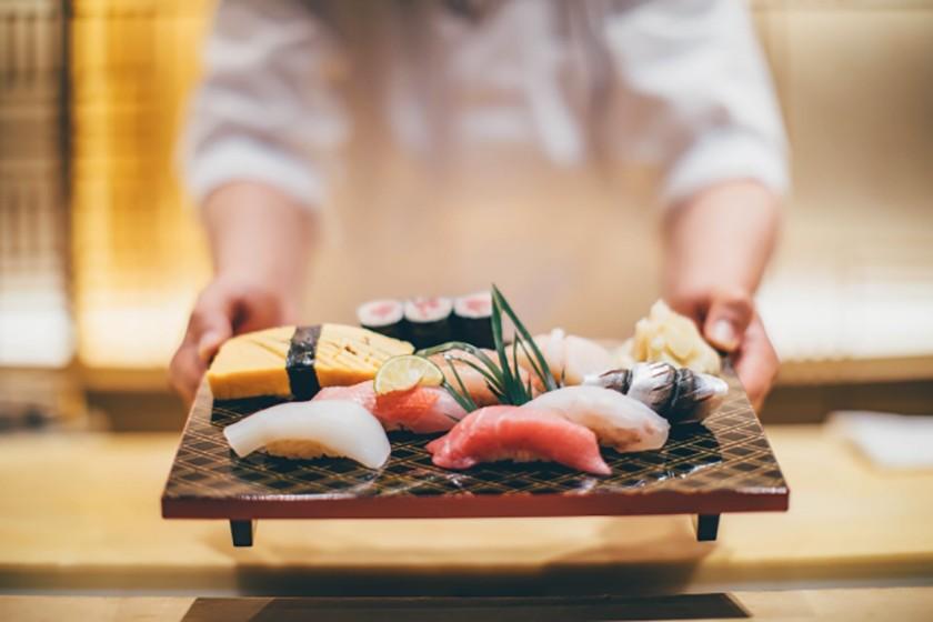 江戶前四名物 握壽司