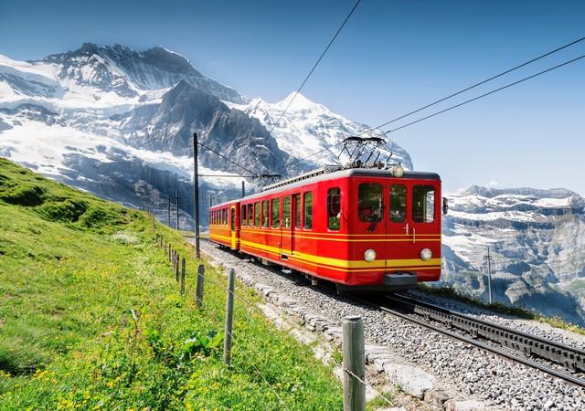 少女峰登山鐵路JungfrauBahn